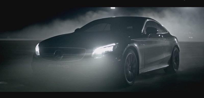 مرسيدس S63 AMG كوبيه 2015 تطلق اصواتها المرعبة