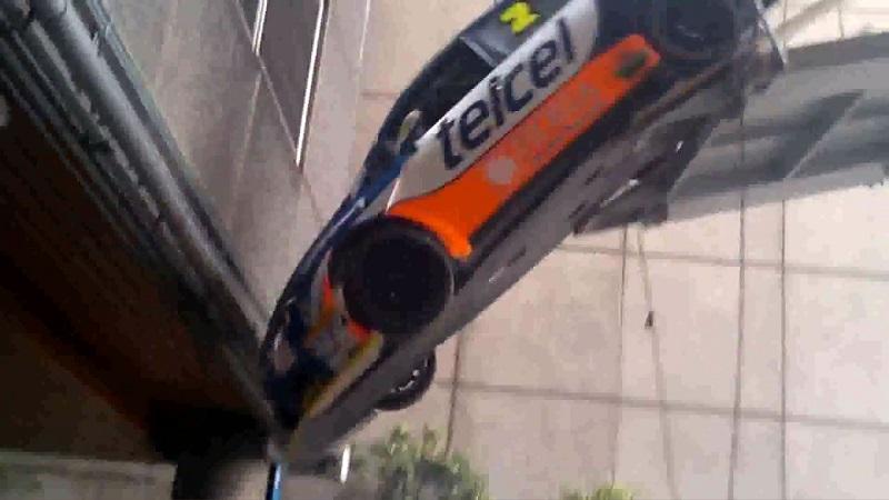 نهاية موجعة لسيارة الرالي سيات ليون كوبرا