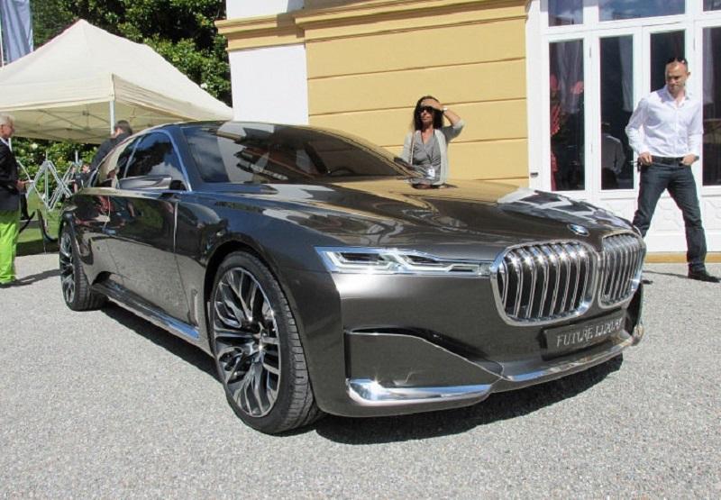نظرة عن قرب على بي ام دبليو Vision Future Luxury