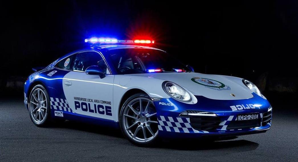 بورش 911 تنضم إلى صفوف الشرطة الأسترالية