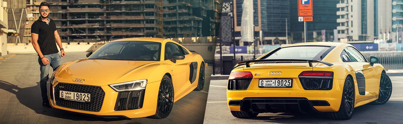 اودي R8 V10 Plus تحت تجربة عرب جي تي