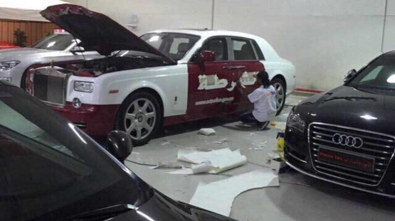 ابوظبي تقدم أفخم سيارة شرطة في العالم