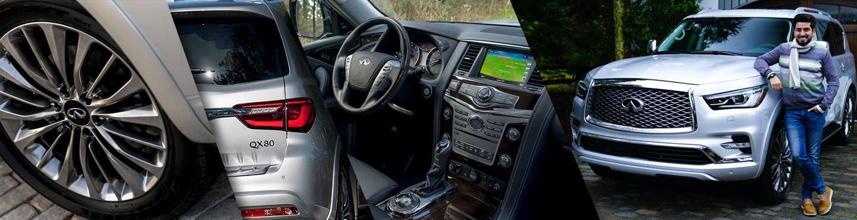 QX80 2018 أضخم سيارات انفينيتي تخضع لاختبارنا الأول