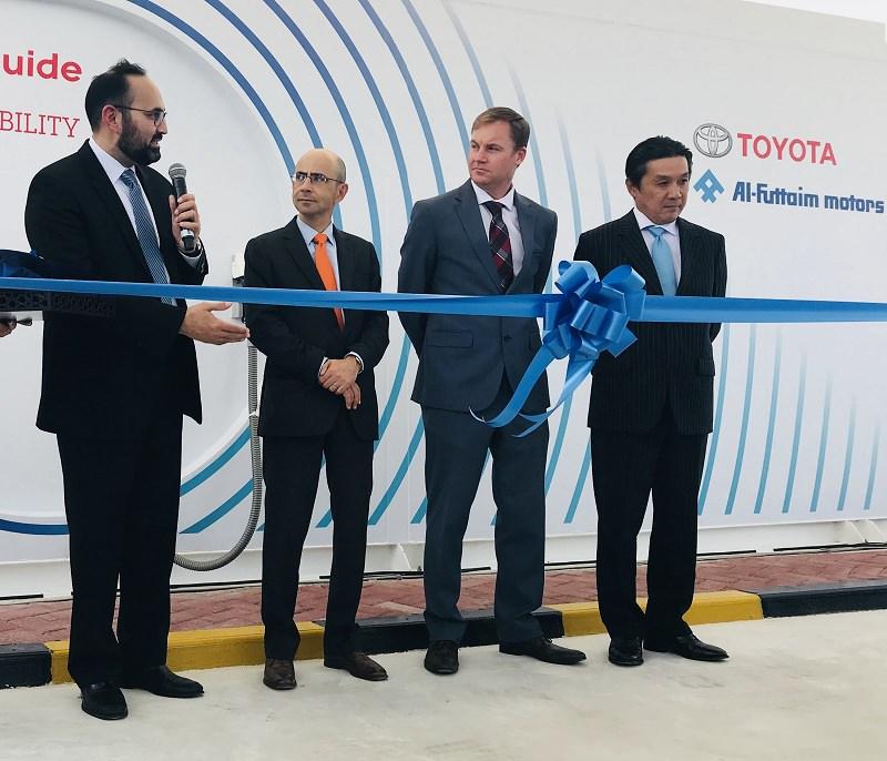 اول محطة هيدروجين في الإمارات