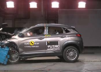 اختبار تصادم هيونداي كونا Hyundai KONA