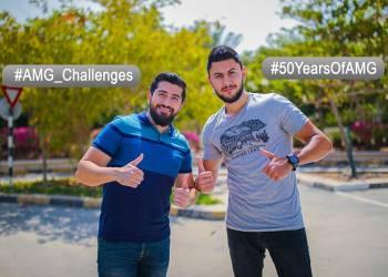 تحدي AMG مع متابعي عرب جي تي