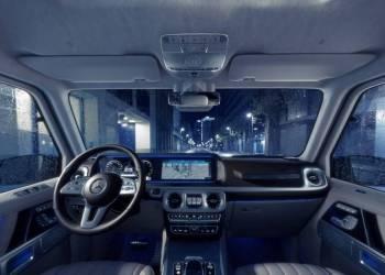 أول فيديو لسيارة مرسيدس G Class 2019 الجديدة كلياً