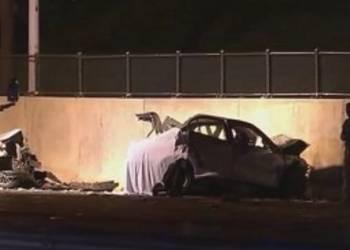 سائق يقود عكس الطريق ويتسبب في مقتل 2