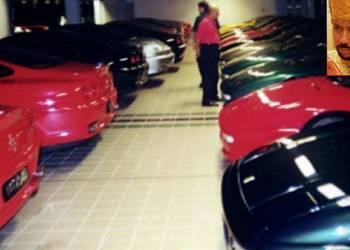 شاهد مجموعة من السيارات الثمينة التي يمتلكها سلطان بروناي
