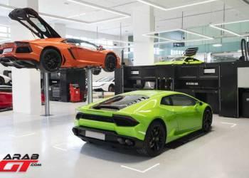 لمبرجيني تفتتح أكبر معرض لسياراتها على مستوى العالم في دبي