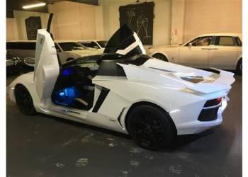 بدون أي شك هذه أرخص سيارة لمبرجيني افنتادور رودستر في العالم