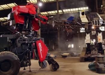 شاهد حرب روبوتات عملاقة بين أمريكا واليابان