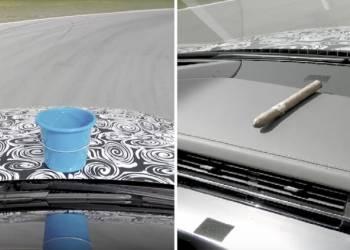 شاهد اختبار سيارة اودي الجديدة باستخدام دلو من الماء وسيجار