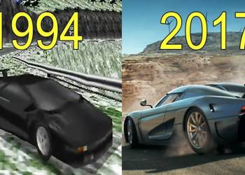 شاهد تطور لعبة نيد فور سبيد من التسعينات الى الان