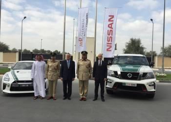 نيسان باترول نيسمو تنضم إلى أسطول سيارات شرطة دبي