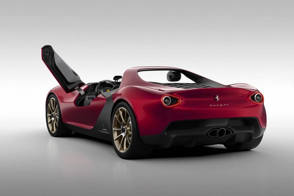 الإيطالية 2018 الإيطالية pininfarina-sergio-c
