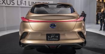 لكزس LF-1 ليمتلس ترسم المستقبل في وقتنا الحالي