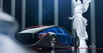 رولز رويس اكستيريون ترسم مستقبل السيارات في عام 2035