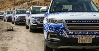 شانجان و المجدوعي يختبروا حول الخليج أجدد سياراتهم