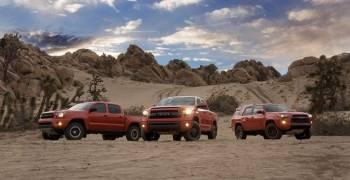 تويوتا تقدم فيديو مثير لموديلات تي ار دي برو الجديدة في الصحراء