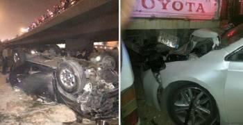 سائق يتسبب في مصرع 4 من عائلة واحدة في السعودية