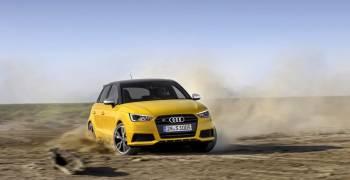 اودي تنشر اول فيديو لسيارة S1 كواترو 2014
