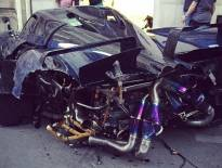 سيارة سعودية وحيدة في العالم تثير فضيحة بعد تحطمها في باريس