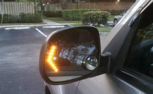 أضواء التفاف السيارة