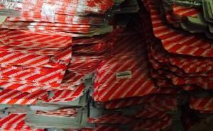 إغلاق مستودع للبضائع المقلدة في الرياض