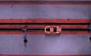 اختبار تصادم بورش مصنوعة من الليجو