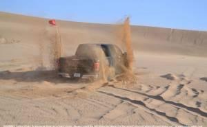 اختبارات فورد اف 150 رابتر 2017 في الصحراء