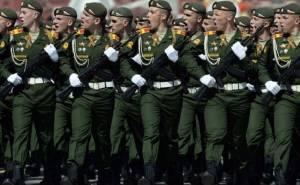 الجيش الروسي يحتفل