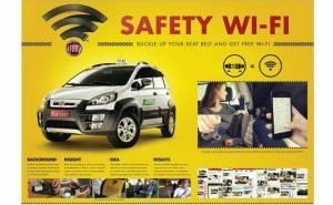 انترنت واي فاي مجاني في سيارات اجرة فيات