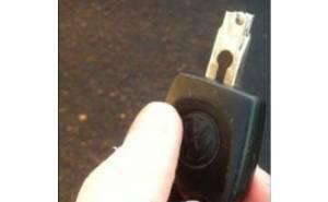انكسار مفتاح السيارة