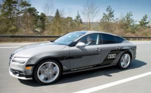 سيارة اودي ذاتية القيادة