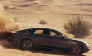اودي A7 سبورت باك في صحراء دبي