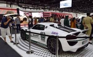 بورش 918 تنضم لاسطول شرطة دبي