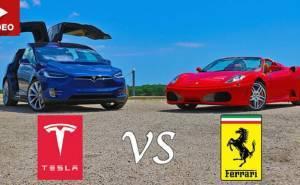 هل تستطيع سيارة كهربائية أن تكون أسرع من فيراري F430