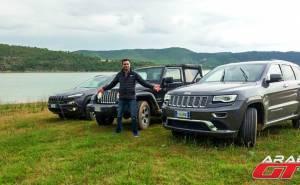 احتفال الـ 75 عاماً لسيارات جيب في غابات اسبانيا
