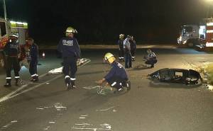 حادث سيارة لمبرجيني في استراليا