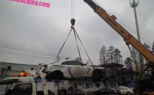 حادث سيارة جي تي ار