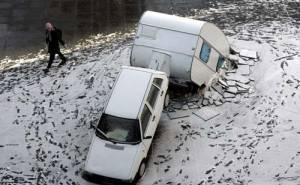 حادث على الجليد