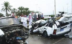 حادث في السعودية