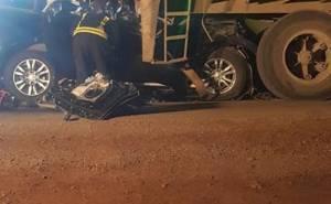 حادث مدير مرور ضرما وزوجته وابنته وخادمتهم