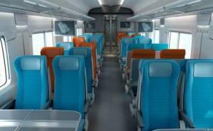 داخلية قطار في السعودية