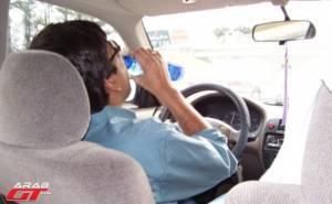 دراسة عن مخاطر العطش أثناء القيادة