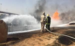 رجال الإطفاء يسيطرون على الحريق