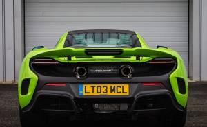 سرعة ماكلارين 675 ال تي 2016