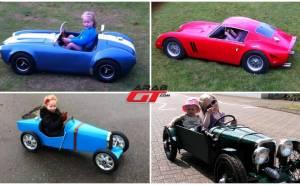 سيارات أطفال مقلدة