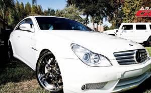 سيارات الممثل والمصارع باتيستا - المعدلة - مرسيدس سي ال اس